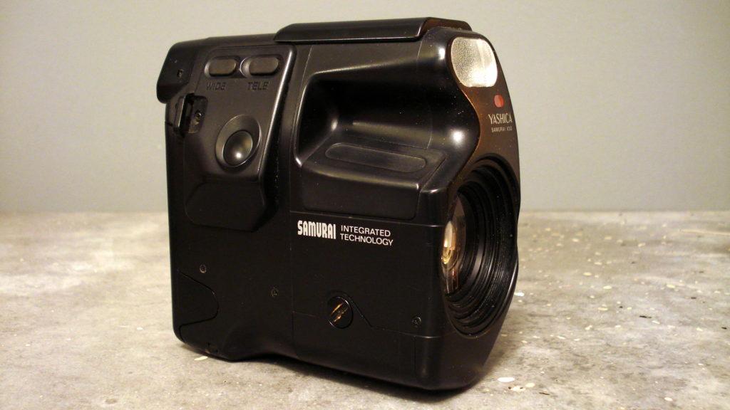 Yashica Samurai half frame camera