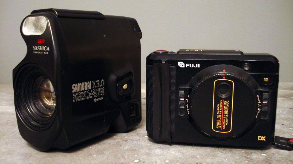 Yashica Samurai and Fuji TW-3