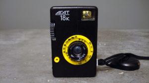 Soviet Agat 18K half frame camera