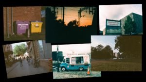 pictures taken on a half frame camera using expired 35mm film
