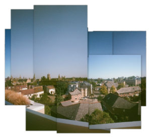 photomontage of the Westgate Centre in Oxford