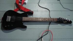 Encore E1-B guitar
