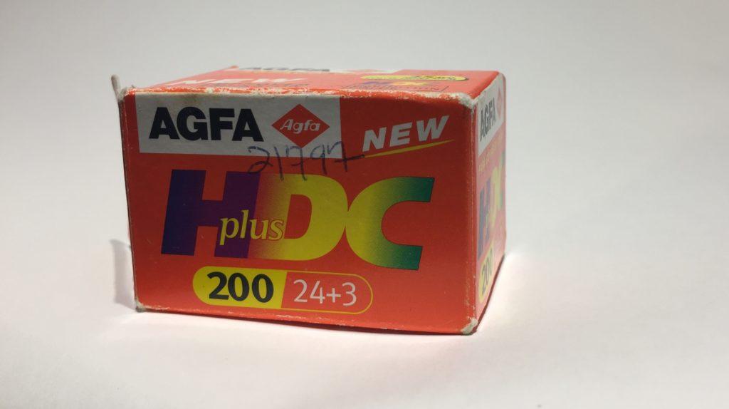 Agfa HDC+ film