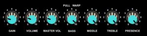 Boss MG-10 control panel