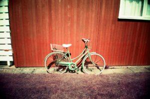 My aunty's bike